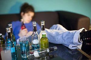 Небажані наслідки вживання алкоголю
